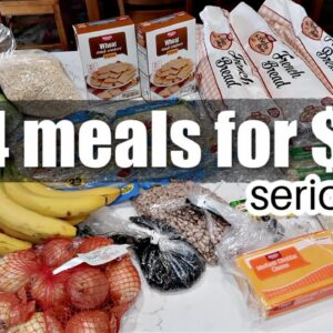 144 MEALS FOR $68! | Emergency Extreme Budget Grocery Haul 2021 with Frugal Fit Mom