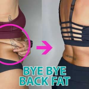 BYE BACK FAT! Do This 10 Min Workout Everyday to Melt Back Fat in 30 Days | No Equipment or Gym!