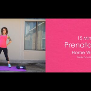 15 Minute Prenatal Arms Home Workout