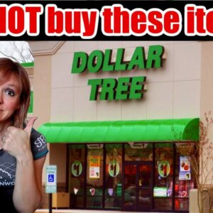 18 ITEMS TO STOP BUYING AT THE DOLLAR TREE | SHOP WITH ME
