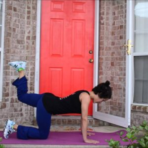 5 Minute HIIT Booty Workout