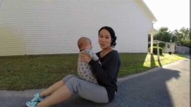 5 Minute Mommy and Baby Home Workout