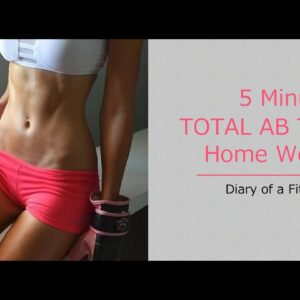 5 Minute Total Ab Home Workout
