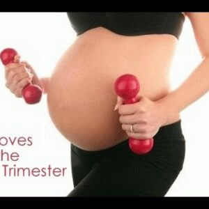 5 Minute Total Body First Trimester Workout