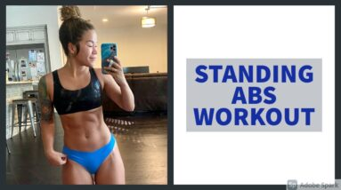 7 MIN STANDING ABS WORKOUT FOR SIX PACK ABS