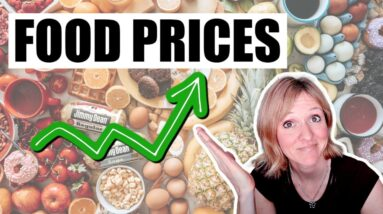ARE FOOD PRICES RISING? | SAVE MONEY ON GROCERIES TODAY | FRUGAL FIT MOM