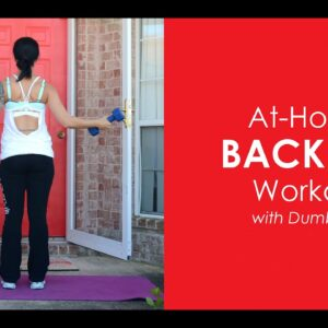 At-Home Back Fat Workout With Weights