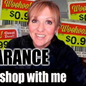 CLEARANCE SHOP WITH ME | GROCERY HAUL ON A BUDGET
