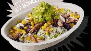 CopyCat Homemade Chipotle Chicken Bowl Recipe
