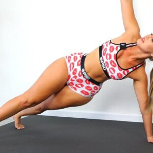 Curvy Hips and Slim Waist Abs Plank Workout
