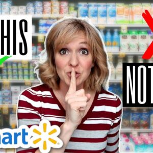17 Healthy Grocery Items To Buy At Walmart | Shop with me | Healthy Food Hacks