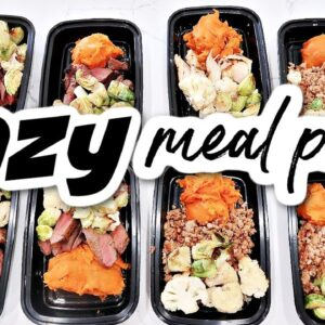 EASY, HEALTHY, & FAST MEAL PREP | COOK WITH ME | FRUGAL FIT MOM