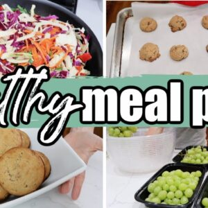 Easy Meal Prep for the Week | Healthy & Budget Friendly for a Large Family