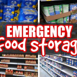 FOOD TO KEEP IN A PREPPER PANTRY | EMERGENCY FOOD STORAGE 101