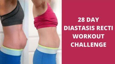 FREE 28 DAY DIASTASIS RECTI WORKOUT CHALLENGE