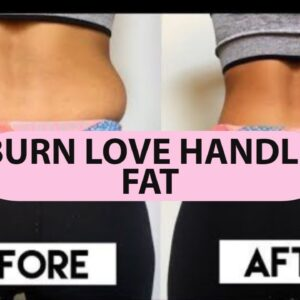 GET RID OF LOVE HANDLES WORKOUT | From Home, NO EQUIPMENT