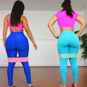 Girls Big Butt Workout with Booty Bands!!! (Grow The Glutes Workout)
