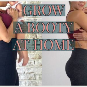 Grow a Booty at Home | Glute Isolation & Activation Workout