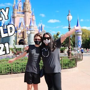 Magic Kingdom During a Pandemic! 2021 Disney World Vacation | Fit Frugal Ash