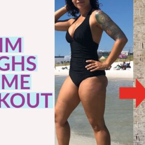 SLIM YOUR THIGHS IN ONE MONTH! 10 MINUTE HOME WORKOUT TO TONE INNER THIGHS