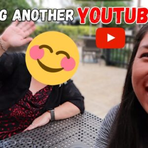 MEETING ANOTHER YOUTUBER YOU MIGHT ALREADY FOLLOW!! WW VLOGGER
