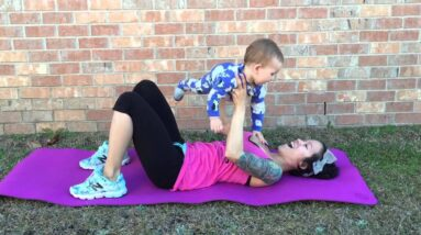 Mommy and Baby Home Workout