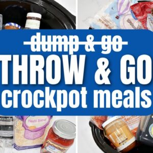 THESE ARE NOT DUMP AND GO CROCKPOT RECIPES | CHEAP SLOW COOKER MEALS | COOK WITH ME FRUGAL FIT MOM