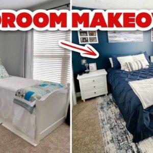 DIY TEENAGER BEDROOM MAKEOVER ON A BUDGET | bedroom decorating ideas 2021 w/ Frugal Fit Mom
