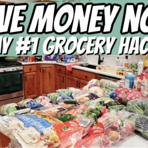 ONE GROCERY HACK TO SAVE THOUSANDS ON YOUR FOOD BILL | FRUGAL FIT MOM