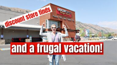 SHOP WITH ME DISCOUNT GROCERY HAUL | A FRUGAL VACATION IN SUN VALLEY, IDAHO