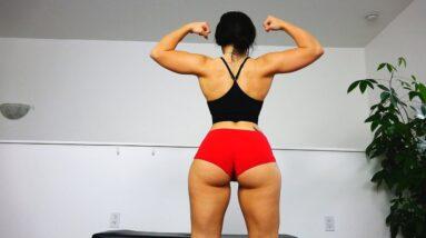 Pro Female Fitness Model Workout Motivation!