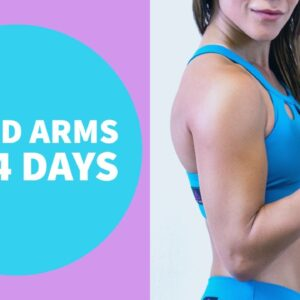Do This Every Night To Lose Flabby Arms || Slimmer Arms In 14 Days! No Equipment