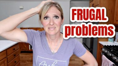 THE PROBLEM WITH FRUGAL LIVING & I'M WORKING ON IT | FRUGAL FIT MOM