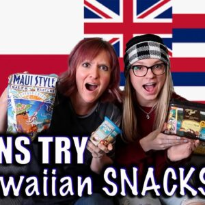 TRYING HAWAIIAN SNACKS | SWAPPING SNACKS WITH FRUGAL FIT MOM