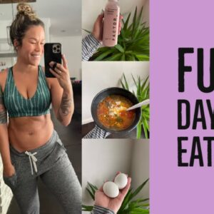 WHAT I EAT IN A DAY | EASY HEALTHY FULL DAY OF EATING