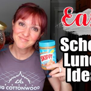 WORK & SCHOOL LUNCH IDEAS | EASY LUNCH MEAL PREP | FRUGAL FIT MOM