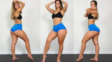 WOW!! HOT Models Thick Thighs and Sexy Body Workout!!