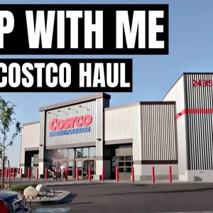 COSTCO SHOP WITH ME | COSTCO HAUL & A SURPRISE | FRUGAL FIT MOM