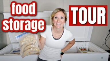 FOOD STORAGE TOUR & HOW TO BEGIN A FOOD STOCKPILE