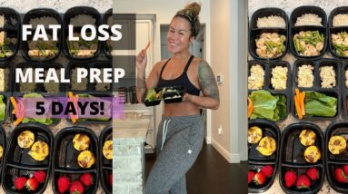 FREE FAT LOSS MEAL PREP FOR THE WEEK | Grain-free, Dairy-free, Gluten-free