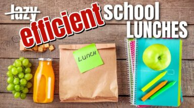 LAZY MOM SAM'S CLUB HAUL AND SCHOOL LUNCHES | FRUGAL FIT MOM