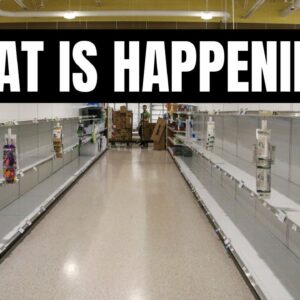 IS THERE A FOOD SHORTAGE? WALMART EMPTY SHELVES | SUPPLY CHAIN & PREPPING 2021 | FRUGAL FIT MOM