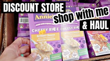 DISCOUNT STORE SHOP WITH ME & GROCERY HAUL | FRUGAL FIT MOM