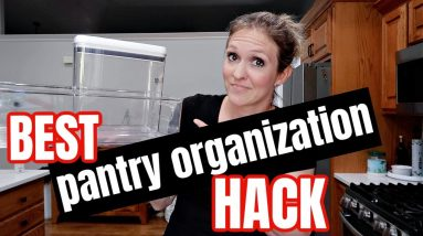 THE ONE PANTRY ORGANIZATION HACK THAT ACTUALLY WORKED | FRUGAL FIT MOM