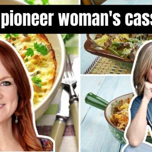 I MADE 5 OF THE PIONEER WOMAN'S MOST POPULAR CASSEROLES | REE DRUMMOND & FRUGAL FIT MOM