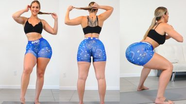 Ultimate Big Booty Squat Challenge Home Workout!!